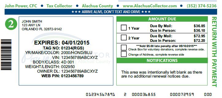 Car registration renewal florida locations 12