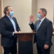 John Power swearing in as the new President of the Florida Tax Collector's Association