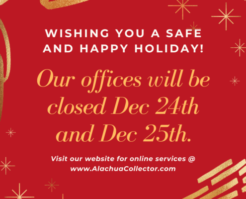 Wishing you a safe and happy holiday.